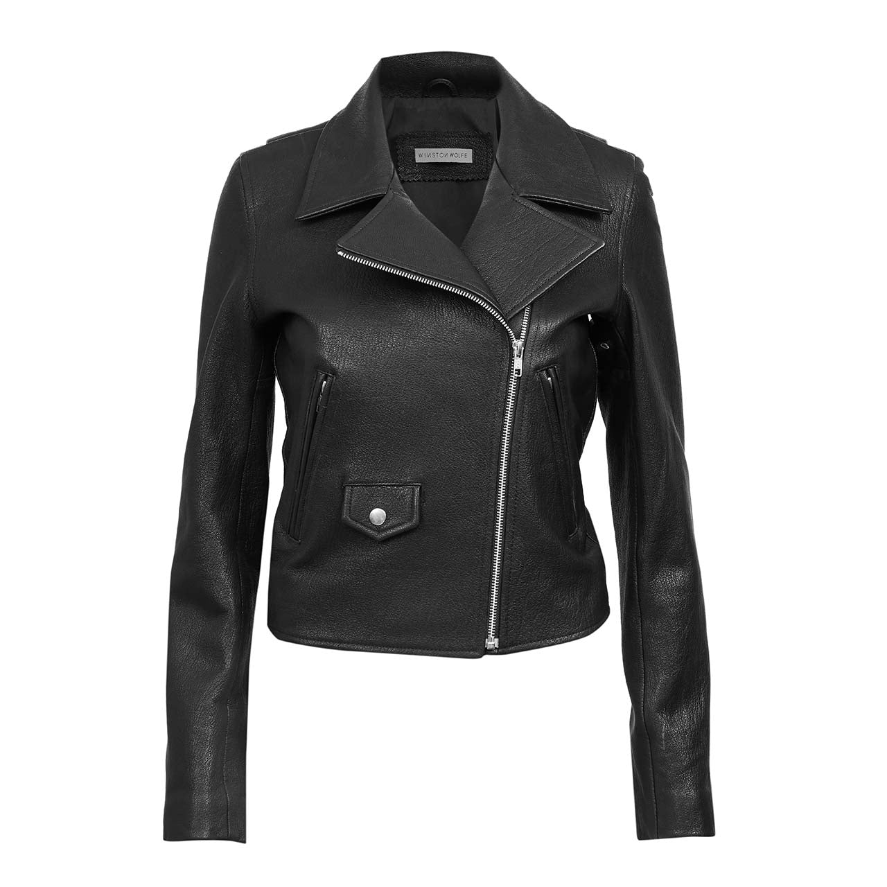HENDRIX LEATHER JACKET - WINSTON WOLFE