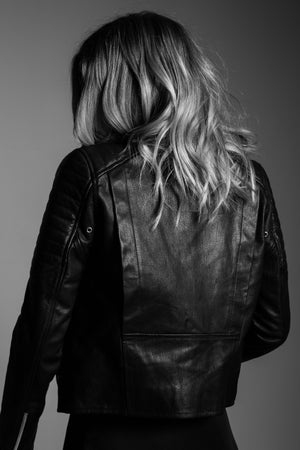 LENNON LEATHER JACKET - WINSTON WOLFE