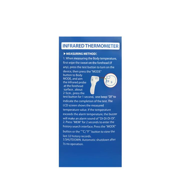 Infrared Thermometer Thermometers FOH Health Essentials