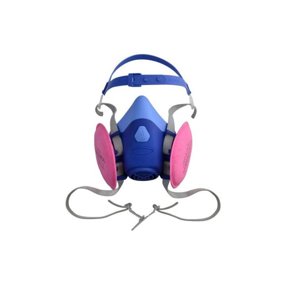 Reusable Half Face Mask Respirator Kit - Medium ($59/Kit)