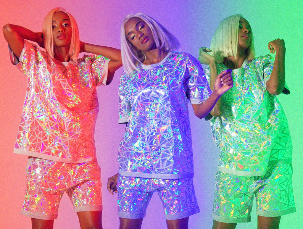 Holographic Mosaic Tee 2.0 New Collection Launch JASON BRICKHILL