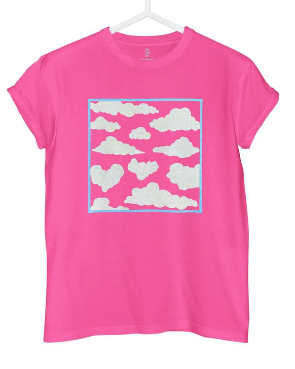 Pink Sky Clouds T-Shirt | JASON BRICKHILL