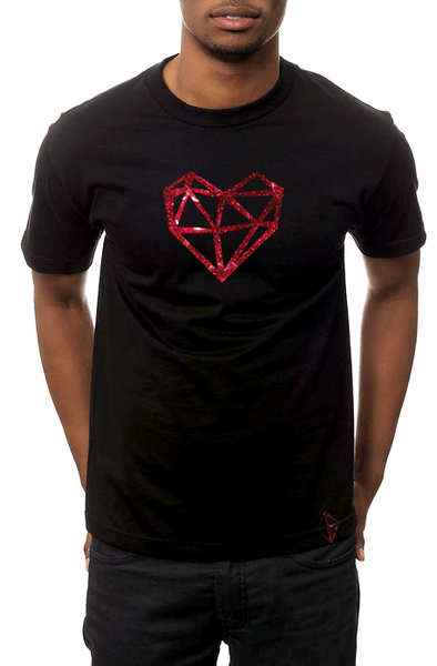 Jason Brickhill Holographic Heart Tee