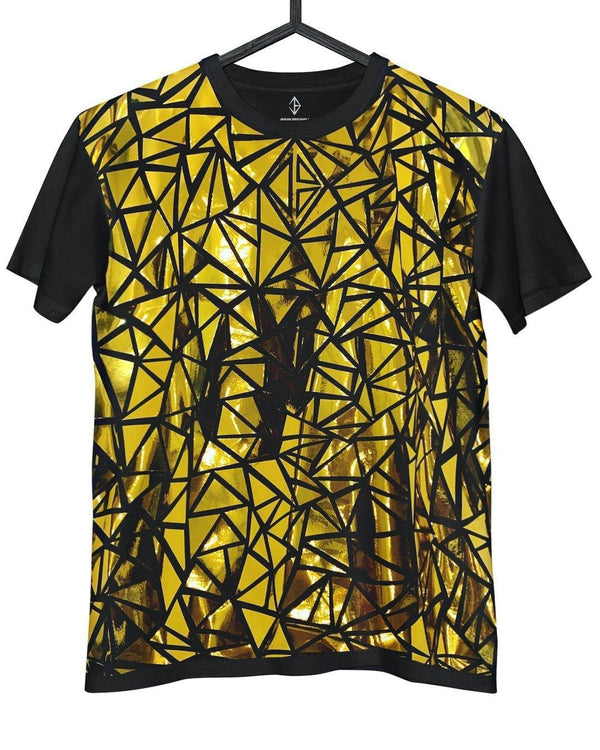 Metallic Gold T-Shirt | JASON BRICKHILL