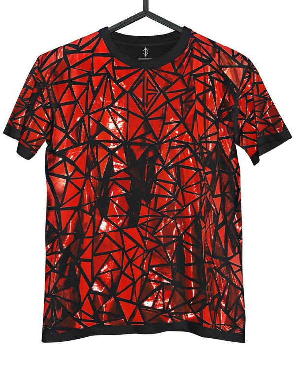 Metallic Red Tee | JASON BRICKHILL