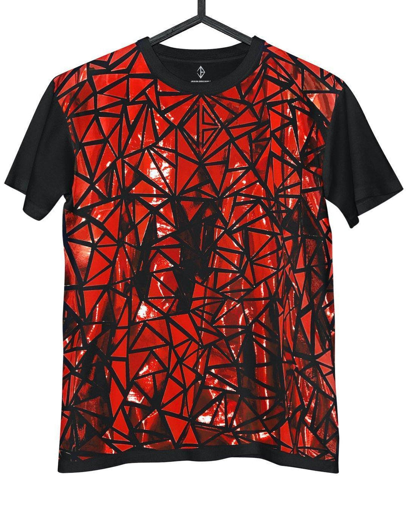 Metallic Red T-Shirt | JASON BRICKHILL