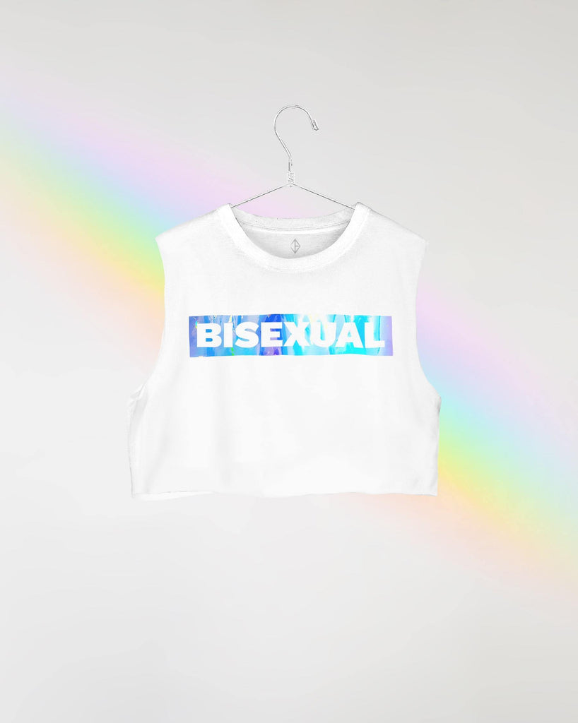 Bisexual & Proud PRIDE Crop | JASON BRICKHILL