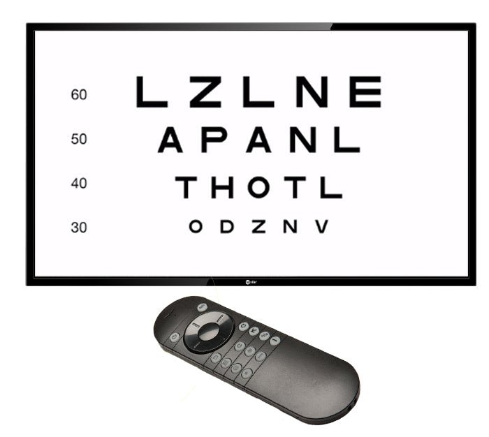 "COS 24"" HD Visual Acuity System."