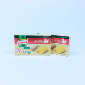 Knorr Chicken Stock Cubes (No MSG), 60g