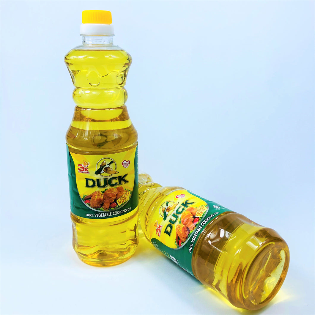 Duck 100% Vegetable Cooking Oil, 1L