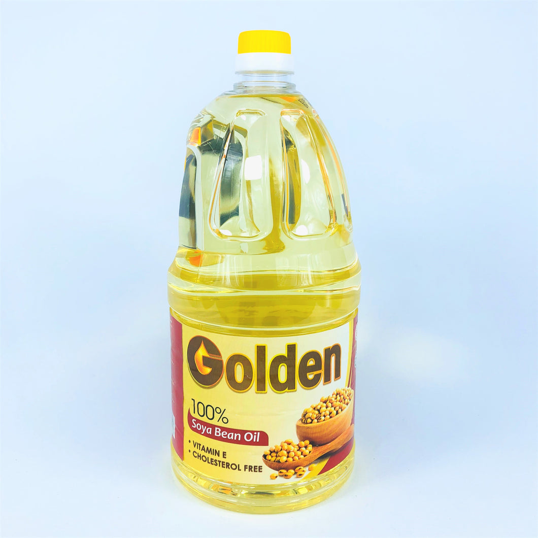 Golden 100% Soya Bean Oil, 2L