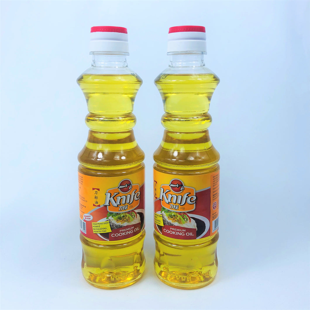 Knife Premium Cooking Oil, 500ml