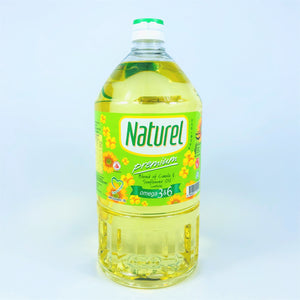 Naturel Premium - Blend of Canola & Sunflower Cooking Oil, 2L