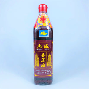 Chee Seng 100% Pure White Sesame Oil, 750ml