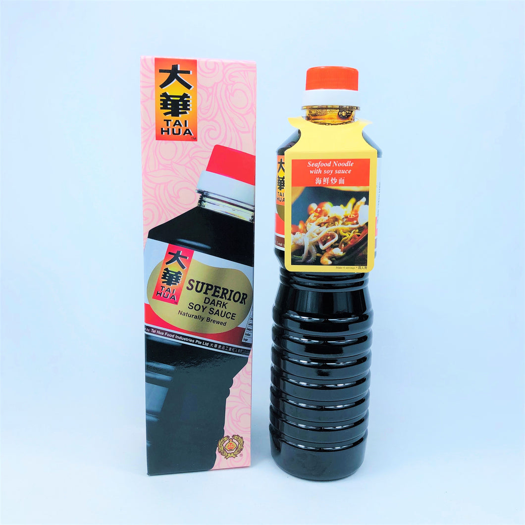 Tai Hua Superior Dark Soy Sauce, 640ml