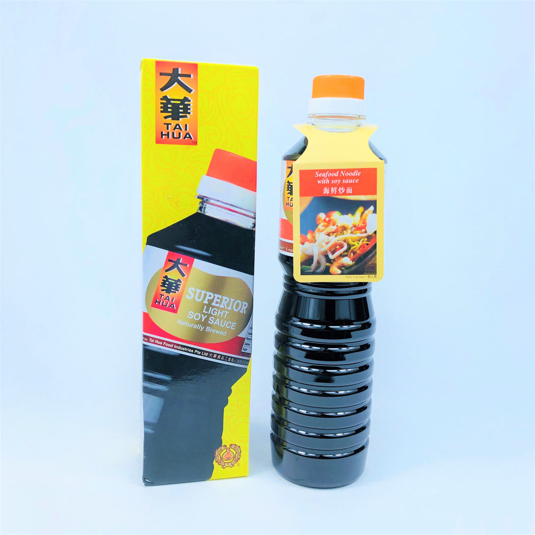 Tai Hua Superior Light Soy Sauce, 640ml