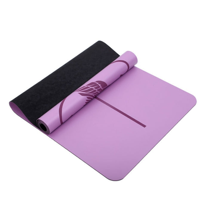 Natural rubber PU yoga mat professional non-slip