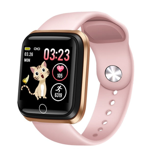 Women Smart Watch Waterproof Fitness Tracker Heart Rate Monitor