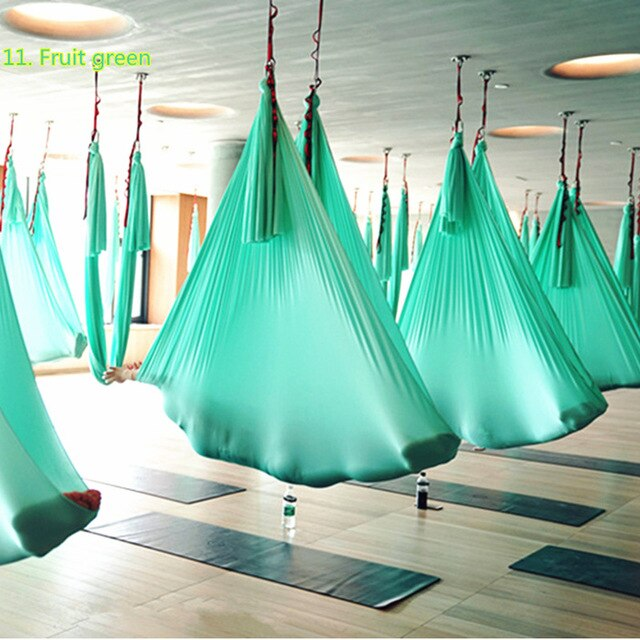 7 Meters Yoga Hammock Fabric Anti Gravity Yoga accessory