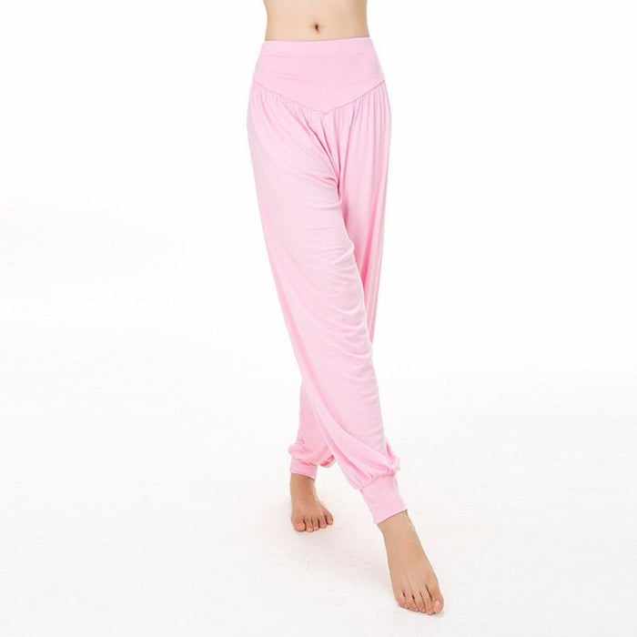 High Waisted Wide Leg Soft Modal Yoga Pants