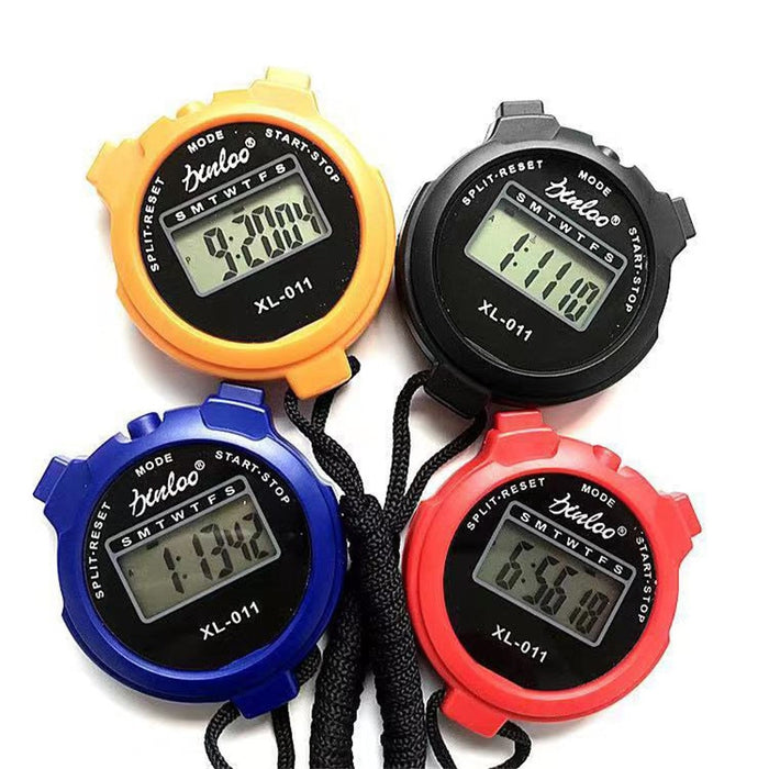 Multi-function Digital LCD Sports Stopwatch Accessories