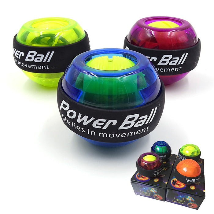 LED Wrist Ball Trainer Gyroscope For Strength Arm Exerciser