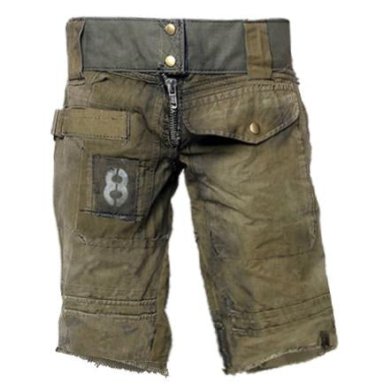 Mens Outdoor Wear-resistant Stitching Military Pants
