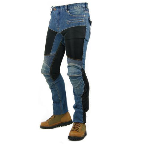Outdoor Drop-resistant Denim Racing Pants