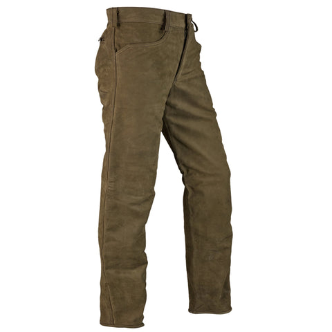 Mens Waterproof And Tear-resistant Hunting Leather Pants