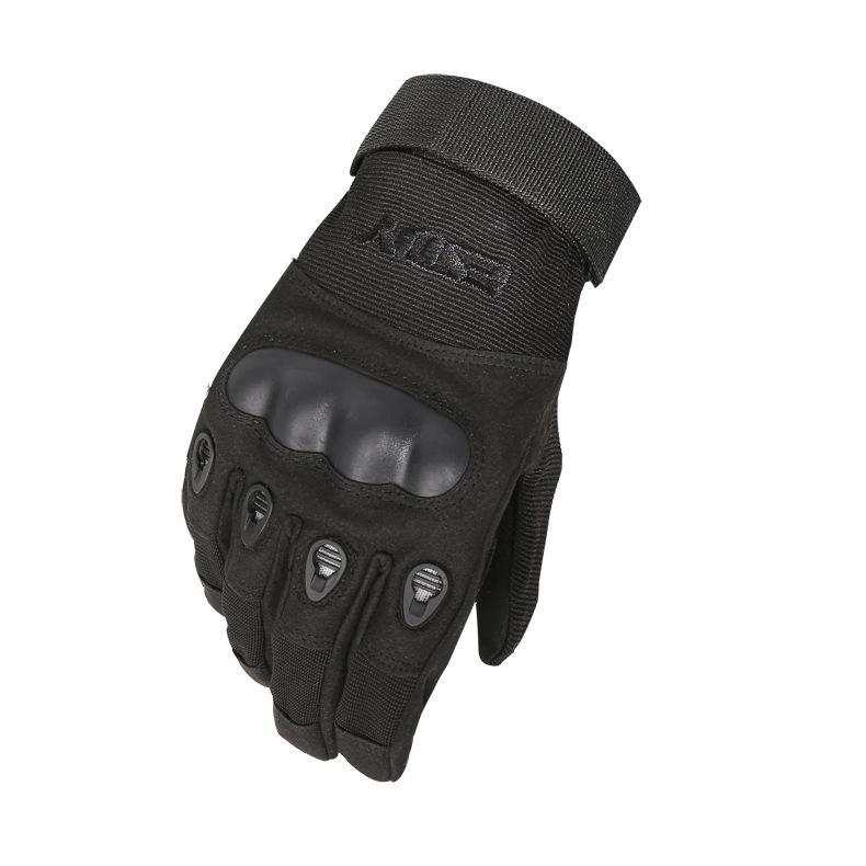Mens Sports Outdoor Full Finger Combat Riding Gloves