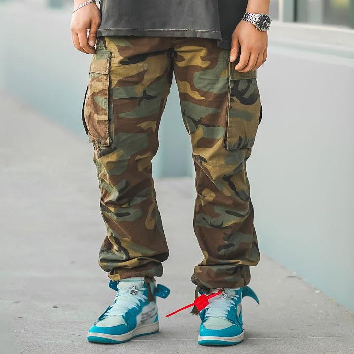 Fashion camouflage overalls