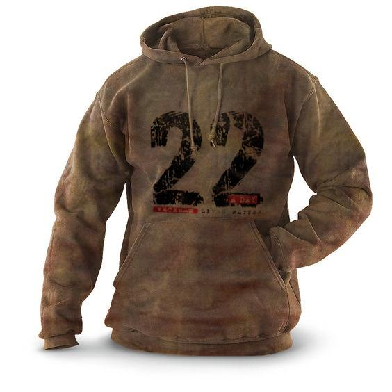 Outdoor hooded sports and leisure printed pullover sweater