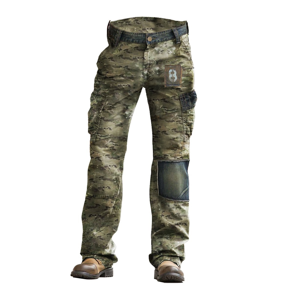Outdoor Camouflage Wear-resistant Military Trousers