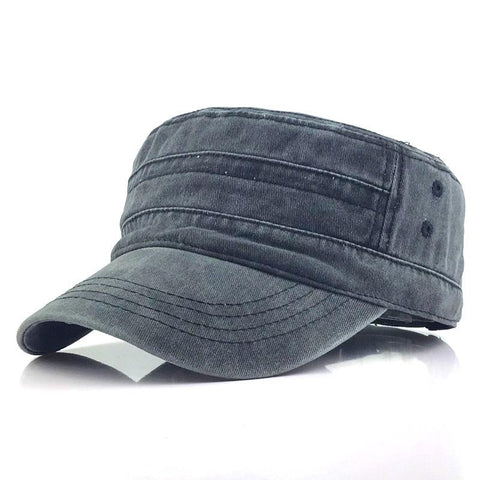 Men's washed old hat casual cap