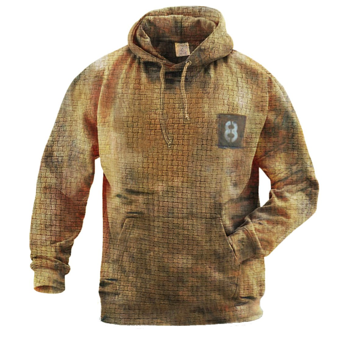 Mens Outdoor Hooded Warm Sweater