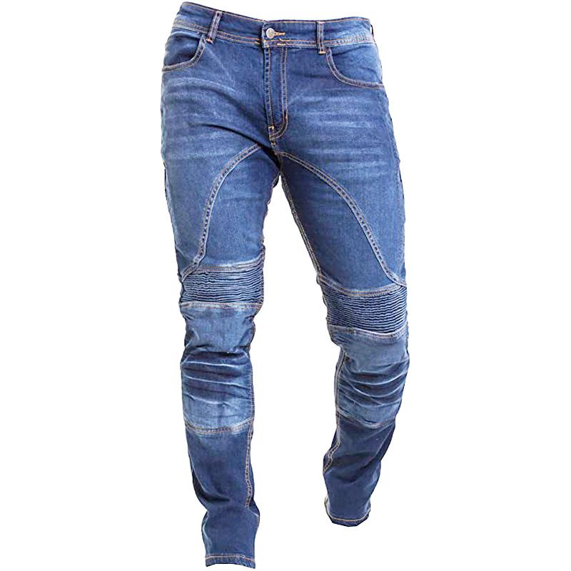 Mens Outdoor Wear-resistant Military Jeans