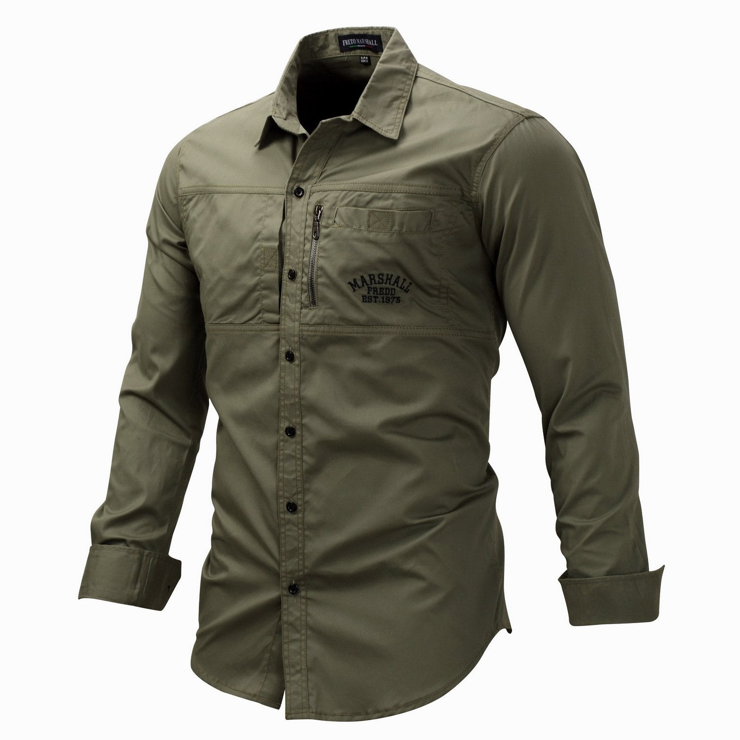Men's outdoor quick-drying long-sleeved shirt