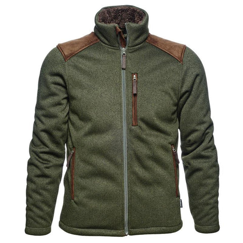 Mens jacket casual style shoulder contrast stitching design