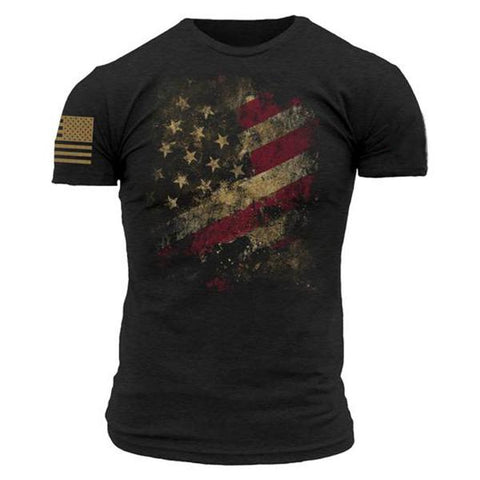 Printed tactical short-sleeved T-shirt