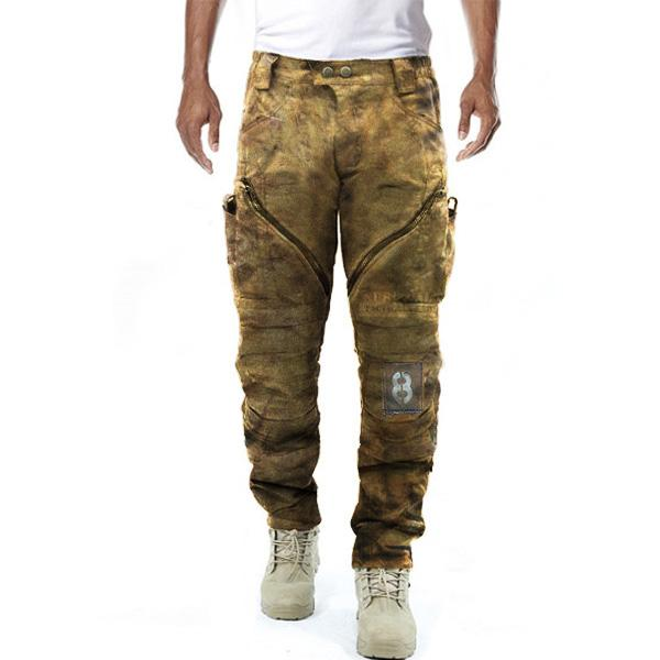 Men's retro casual tactical pants