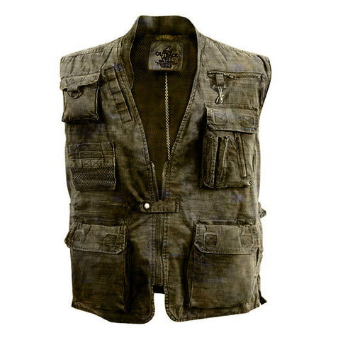 Men's retro U.S. Air Force bulletproof vest hunting suit multi-pocket tooling vest