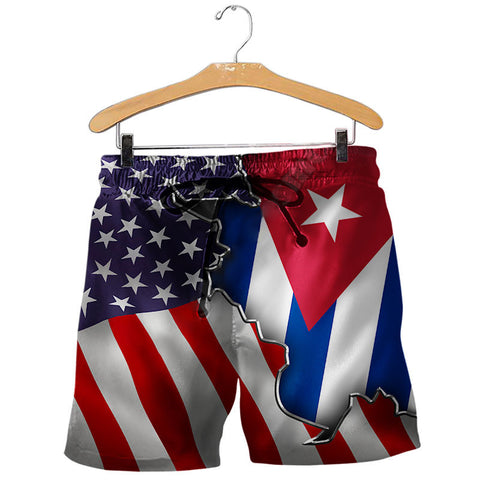 Digital mens printed shorts