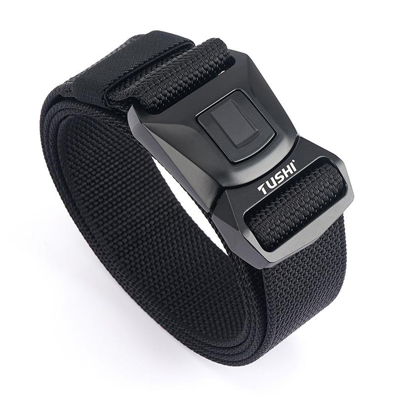 Safety buckle nylon belt men's CS combat belt outdoor sports multifunctional tactical belt