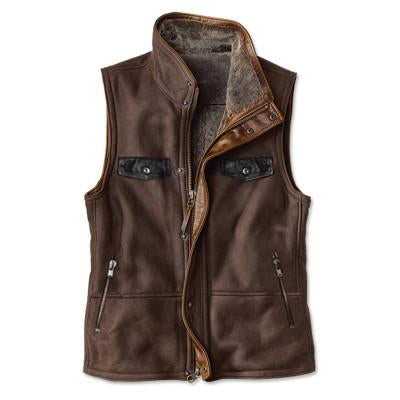 Mens Retro Style Zipper Vest