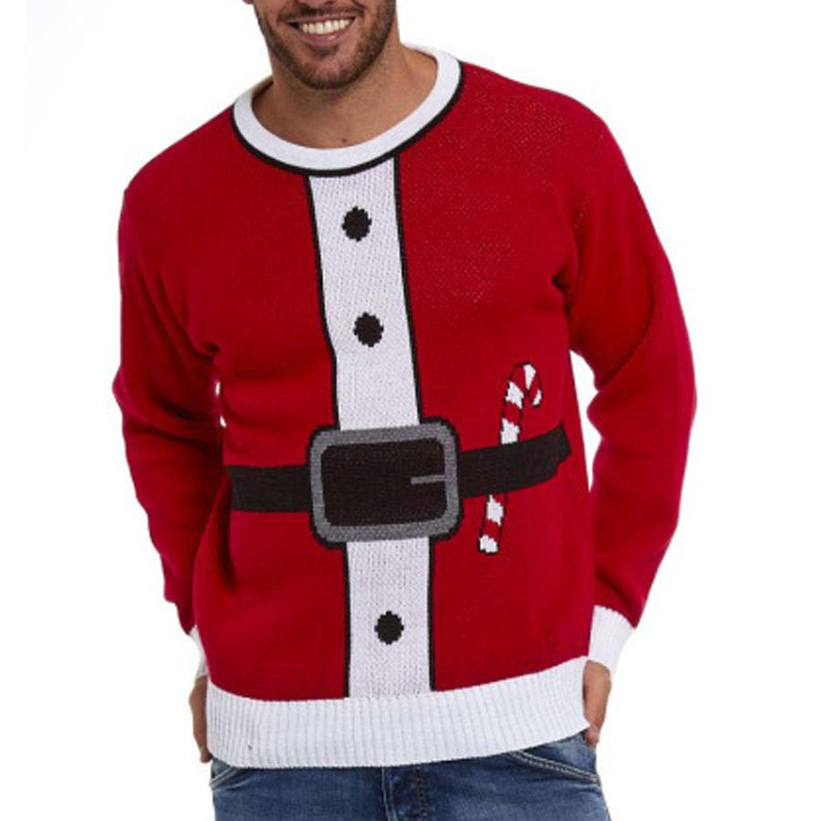 Funny Round Neck Ugly Christmas Sweater
