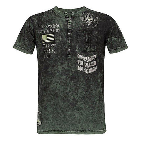 Mens outdoor tactical print T-shirt