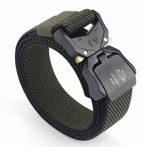 Outdoor Tactical Belt Quick Release Aluminum Alloy Outer Belt