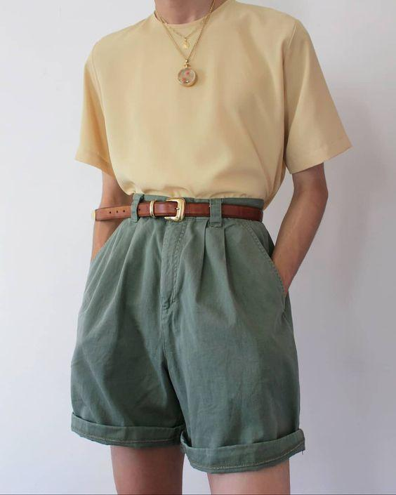 Solid color shorts WJ06
