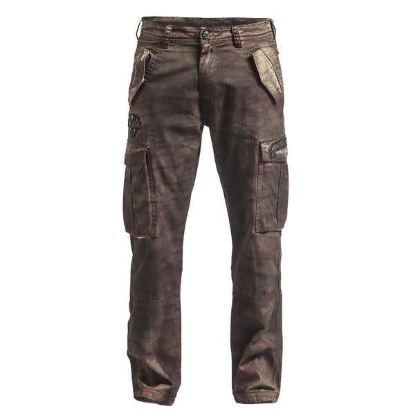 Mens Outdoor Distressed Fashion Sports Trousers