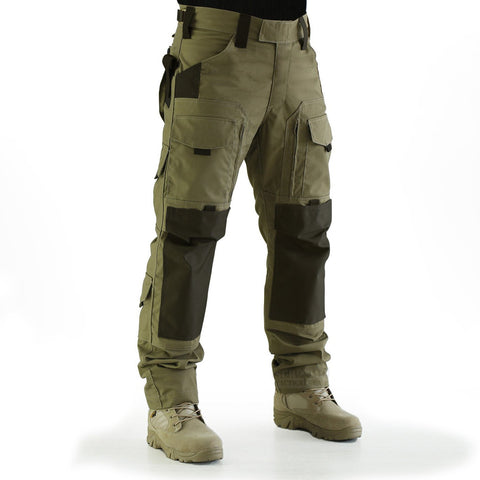 Mens Fashion Solid Color Outdoor Tactical Trousers Casual Pants